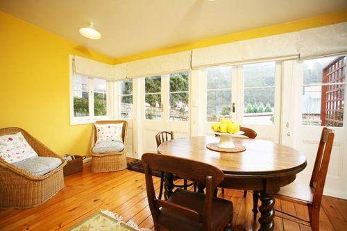 Rear sitting room hobart cottage