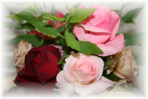 Liz bday flowers