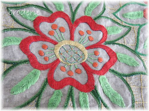 Fabric and stitching 047