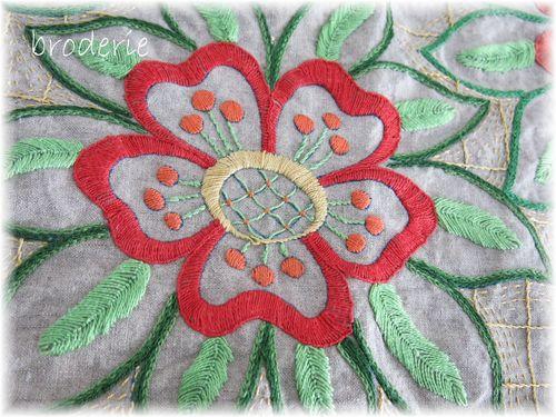 Fabric and stitching 047