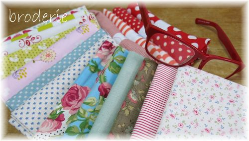 Fabric and stitching 002